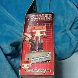 TRANSFORMERS G1 Optimus Prime 1984 VINTAGE TOY VERY RARE HASBRO CAR