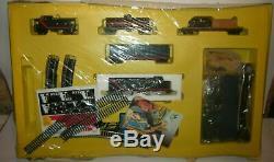 TYCO A-TEAM ELECTRIC TRAIN & PLAYSET SLOT CAR TRACK VINTAGE ARCOFALC MIB 80s
