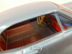 Taiyo Japan Bump N Go CHEVROLET CAMARO Battery Operated 10 Tin Toy Car 67 Blue