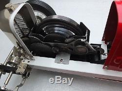Tether Car. Gilbow Miller Indy Race Car. Clockwork. Convert To Gas Model Engine