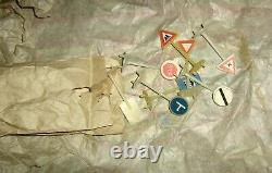 Tin Litho Toy Wind-Up Car Town, Traffic Control East Europe Vintage Mavaut