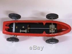 Tin Toy 1950'S BRAL BRAGLIA FERRARI RACE CAR battery car working no ingap