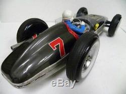 Tin Toy / 1950'S Yonezawa toys JETSPEED RACECAR battery car working properly