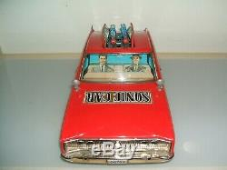 Tin Toy Dodge Charger Car Japan Battery Big Dimension CM 40 Giocattolo Latta