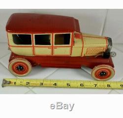 Tin Toys Germany Orobr Car Club Sedan Original Box An Exceedingly Rare, Works