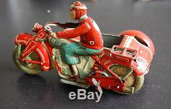 Tippco T587 side car motorcycle made in US-zone TCO