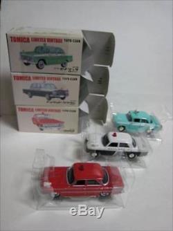 Tomica Limited Vintage Toys Club 3 Cars Set Gloria Cedric Crown Japan76