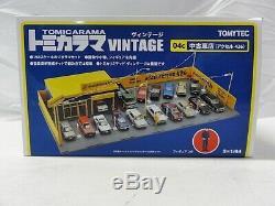 Tomica Vintage Tomicarama Accelerator 426 Garage Diorama USED CAR DEALER Japan