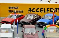 Tomicarama Vintage 04c 1/64 Used Car Store Axel426 267966 ABS Structure Minicar