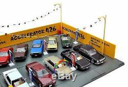 Tommy Tech (TOMYTEC) Tomikarama Vintage 04c 1/64 Used car Shop Accelerator