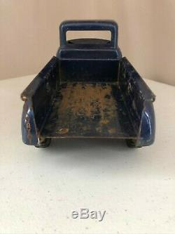 Tonka Step Side Pickup Truck Blue Vintage Original Collectible Toy Car Truck