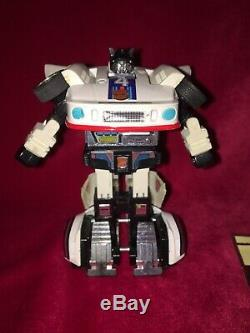 Transformers G1 Jazz Complete Pre Rub 1984 Vintage complete autobot car