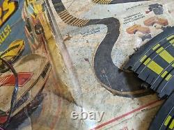 Tyco Cliff Hangers No 6208 Car Racing Set Slot 1982 Rare Toy Box Parts Track Vtg