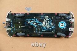 US Zone SG Gunthermann 4-door Ford Sedan Tin Wind-up Clockwork Toy Car with Box