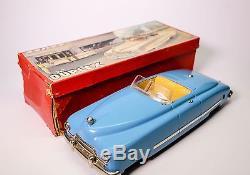 Ultra-scarce Near Mint Jnf Duplex Futuristic Clockwork Car With Original Box