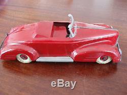 Vintage 1930-40 Suberb Tinplate Toy American Tin Car Wyandotte Marx Bing Buddy
