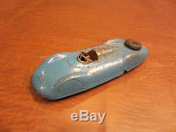 VINTAGE 1940s TOYS US ZONE GERMANY RARE TIN WithU AUDI SPEED RACER TOY RACE CAR