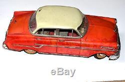 Vintage 1950 Germany Gama Opel 400 Kapitan Tin Toy Car
