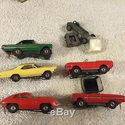 Vintage Aurora Ho Slot Car Lot Thunderjets