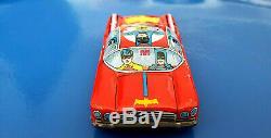VINTAGE BATMAN 1966 Tin Toy Japan BATMOBILE Friction YANOMAN 1960´s CAR