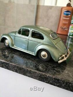 VINTAGE COLLECTABLE TIN TOY VOLKSWAGEN CAR made in JAPAN