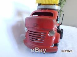 Vintage Lincoln Toys Auto Transport Diesel Truck With 4 Reliable Cars