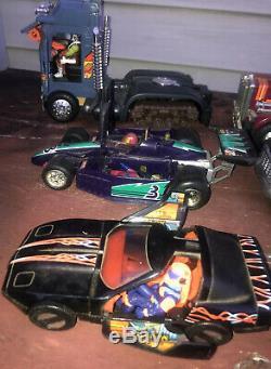 VINTAGE Lot 1980s Kenner M. A. S. K Toys 8 Vehicles Cars/Trucks/MASK + 11 Figures