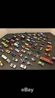 VINTAGE Micro Machines Galoob Lot of 82! Cars Playset! Extras RARE