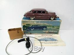 VINTAGE RARE SOVIET RUSSIA GAZ 12 ZIM TINPLATE 60s CAR CLOCKWORK BOXED (AM558)