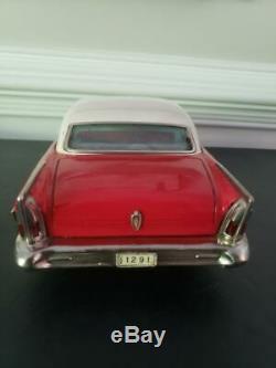 VINTAGE/RARE Tin Toy Car Asahi/Ichiko 58' Buick Century 2 Dr Hard Top XL 14