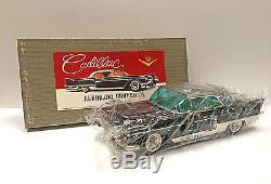 Vintage Tin Cadillac Eldorado, Brougham Toy Car With Original Packaging