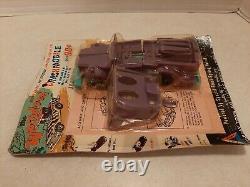 VTG 60's Tri-Play Toys Weird-O-Oh Crashmobile 7 Plastic Exploding Car MOC V