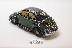 VW Volkswagen Kdf split window CKO no Distler Germany tin car sedan
