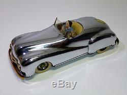 Very Rare INGAP (Italy) # Tinplate Wind-up 1450 Open Touring Car Roadster