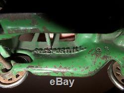 Vintage 1923 Arcade Cast Iron Model T Ford Sedan Toy Car 5 Long Original SUPERB
