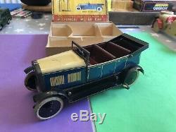 Vintage 1930s Pre War Burnett Ubilda Motor Constructor Car Boxed Meccano Tourer