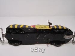 Vintage 1939 Marx Charlie McCarthy & Moritmer Snerd Private Car Windup Tin Toy