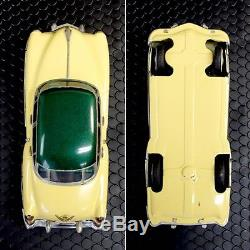 Vintage 1950 Marusan Friction Repaint Tin Car Toy Cadillac Made in japan