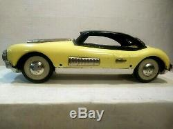 Vintage 1950's ASAHI Cunningham Sedan Friction Drive Toy Car #4630