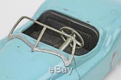 Vintage 1950's Modern Toys Doepke XK-120 Sky Blue JAGUAR 17 Die-cast Car