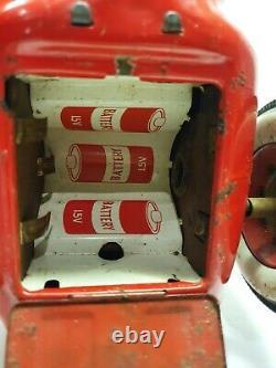 Vintage 1950s MASUDAYA Modern Toys MT Japan Tin Litho #301 Champion Race Car