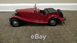 Vintage 1954 Doepke MT (MG TD) Model Toys Rossmoyne Ohio Metal Diecast Car 15
