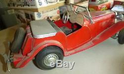 Vintage 1954 Doepke MT (MG TD) Model Toys Rossmoyne Ohio Metal Diecast Car 16