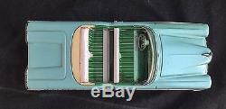 Vintage 1958 Edsel Tin Litho Friction 11 Tin Toy Car Haji Mansei Japan Tin Toy