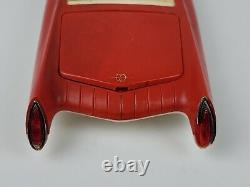 Vintage 1960's OK Toys Red plastic futuristic Car Dreamliver Friction motor