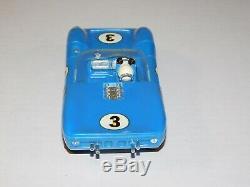 Vintage 1960s COX 29020 #3 Lola T-70 1/24 Scale Model Racer Slot Race Car In Box