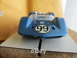Vintage 1965 Atlas / Tamiya McClaren Elva 1/24 scale slot car