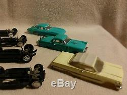 Vintage 1965 Motorific Giant Detroit Torture Track with Cars by Ideal Toys