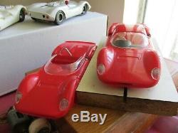 Vintage 1966 COX 1/24 scale Ferrari Dino & extra body car with box