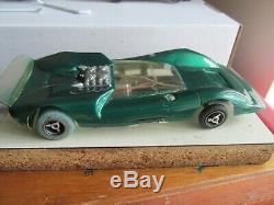 Vintage 1967 1/24 scale Riggen JAD Gator Lola T-70 slot car